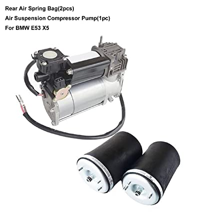 Amazon com: Rear Air Spring Suspension L & R+Air Suspension
