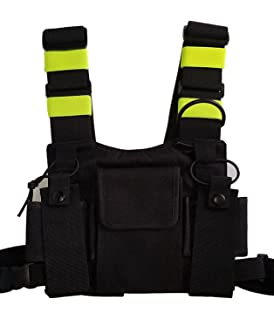 Amazon coaxsher rp 1 scout radio chest harness electronics lewong universal hands free chest harness bag holster for two way radio rescue essentials sciox Choice Image