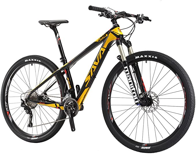 "SAVA DECK2.0 Carbon Mountain Bike 26/""//27.5/""//29/"" Complete Hard Tail SHIMANO M2000"