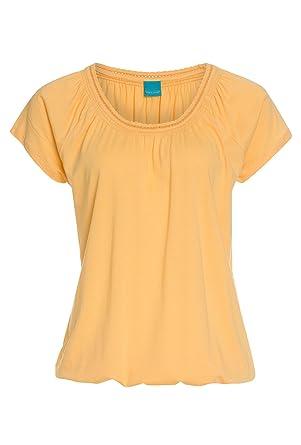 Cool Code Shirt mit Stretchsaum - Damen T-Shirt,Top,Kurzarm,Basic ... 42637e6278