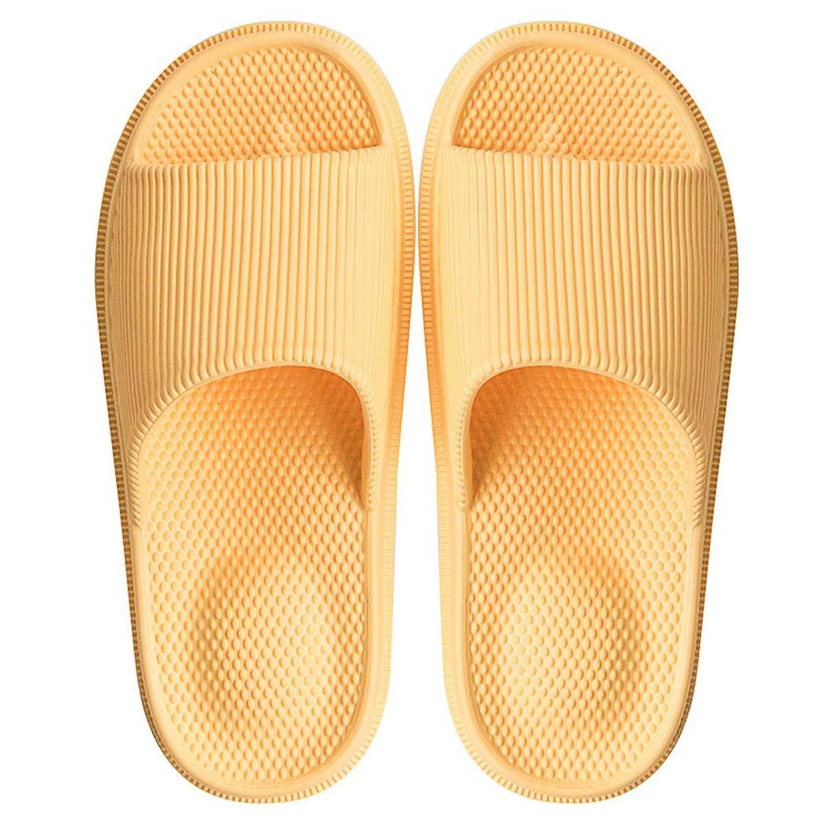 Decai Pantoufles Antid/érapantes pour Femmes Hommes /Ét/é Chaussons Massages Pantoufles Plage Sandales Piscine Claquette Bout Ouvert Maison Mule Salle de Bains Chaussures