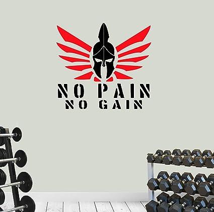 Amazon com: Mesllings Spartan No Pain No Gain Home Gym