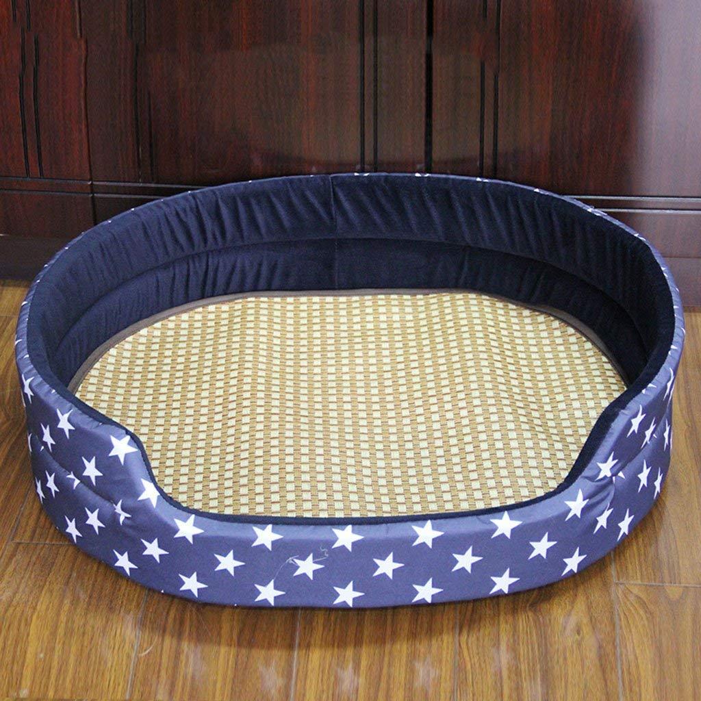E+summer Sleeping Mat X-Large E+summer Sleeping Mat X-Large Pet Bed Summer Kennel Summer Sleeping Mat Winter Washable Seasons Bite Resistant Kennel Dog Supplies (color   E+Summer Sleeping Mat, Size   X-Large)