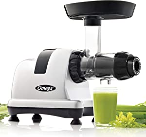 Omega MM900HDS Slow Masticating Celery Juicer, 200 Watt, Silver
