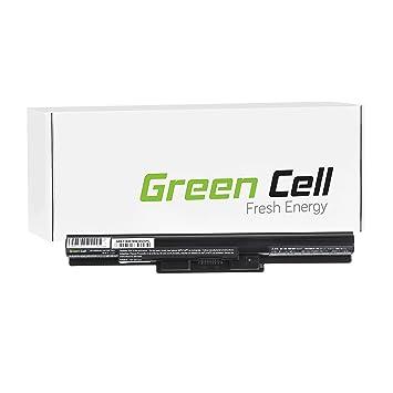 Green Cell® Standard Serie Batería para Sony Vaio SVF1531C4E Ordenador (4 Celdas 2200mAh 14.8V Negro): Amazon.es: Electrónica