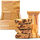 KetoBrownie Bars (12-Count) | Deliciously Baked Soft & Chewy | 15g Healthy Fats | 1g Net-Carb Keto Bars | 1g Sugar | Meal Rep