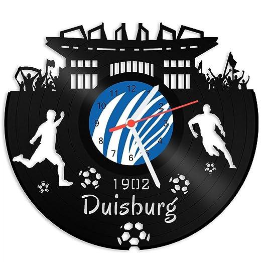 Grabado Línea Tocadiscos Reloj Duisburg - 100% del amor ...