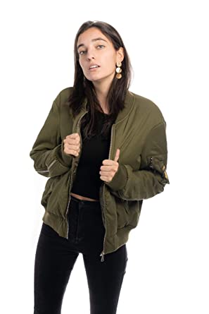 Sight - Chaqueta Bomber de Estilo Militar - Hope: Amazon.es ...