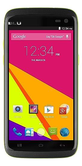 BLU Sport 4.5 IP55 Certificado de Agua/Resistente al Polvo Android 4.4 KK 4G HSPA + 5MP Teléfono Celular Abierto de la cámara: Amazon.es: Electrónica