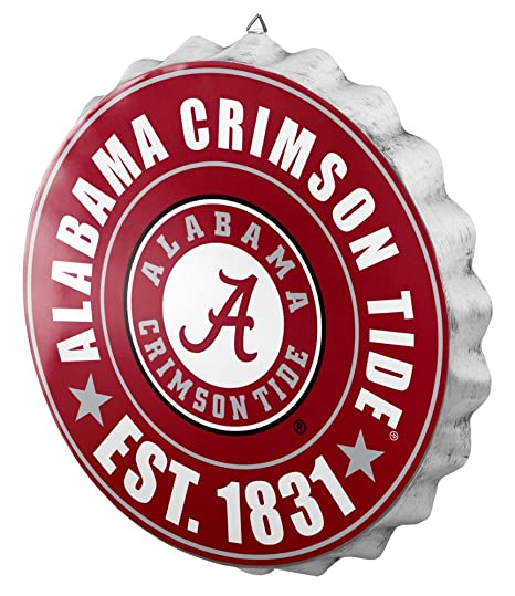 Amazon.com   Alabama 2016 Bottle Cap Wall Sign   Sports   Outdoors 052252b1ad9