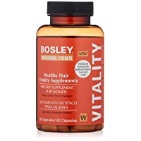 Bosley Professional Strength Hair Vitality Supplements for Women
