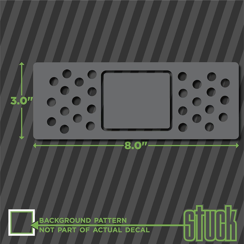 Amazon com bandage dent bump cover 8 0x3 0 vinyl decal sticker bumper car truck funny accident automotive