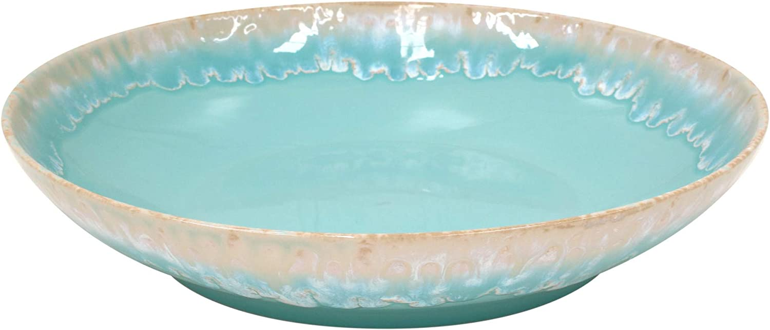 Ceramic Pasta/Serving Bowl 13.25″, Aqua