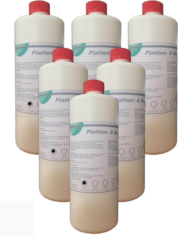 Placas & wegerein herbicida 6 x 1 l: Amazon.es: Coche y moto