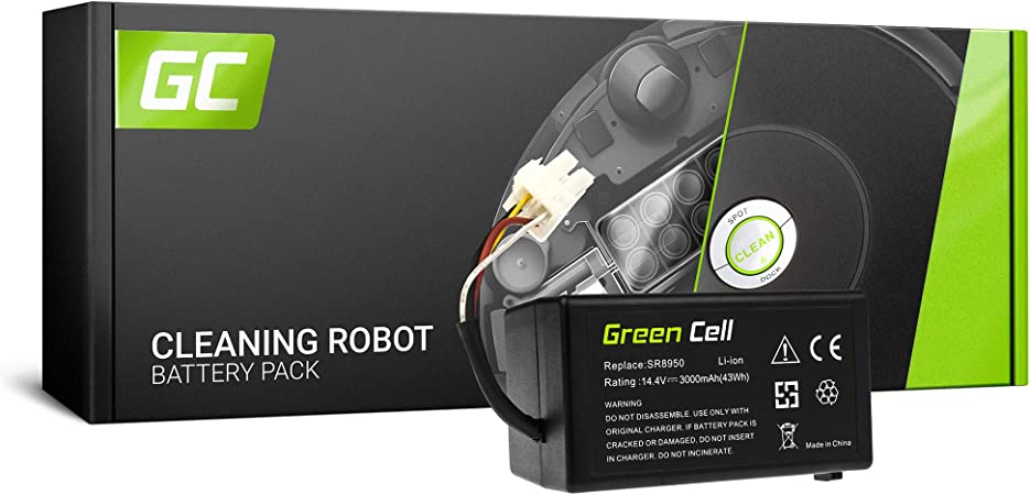 GC® (3Ah 14.4V Li-Ion pile) DJ43-00006B DJ96-00152B Batería para ...