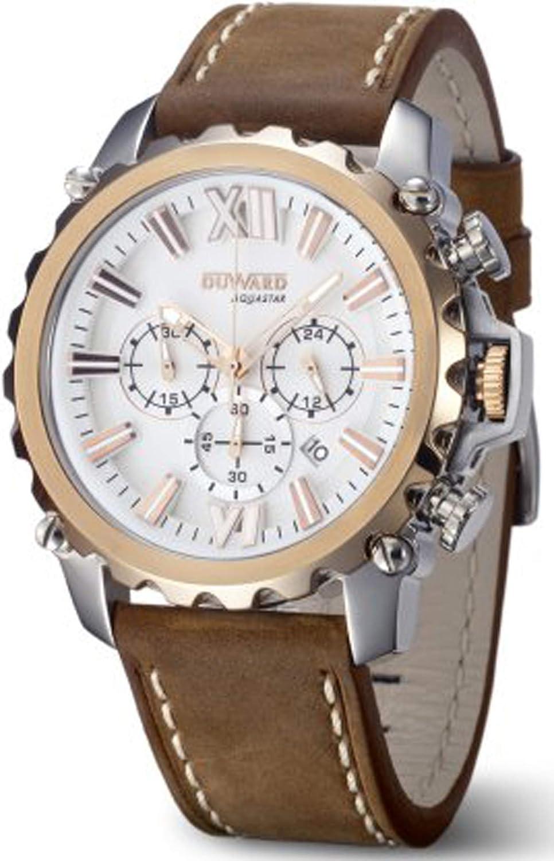 Duward aquastar Nice Reloj para Hombre Analógico de Automático japonés con Brazalete de Piel de Vaca D85516.08