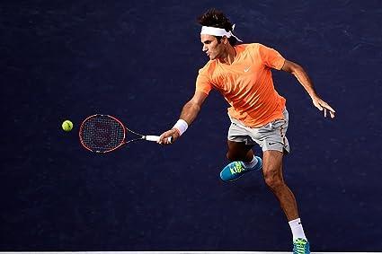 6479516d1 Spirit Of Sports - Tennis Legend Roger Federer - Motivational Poster ...