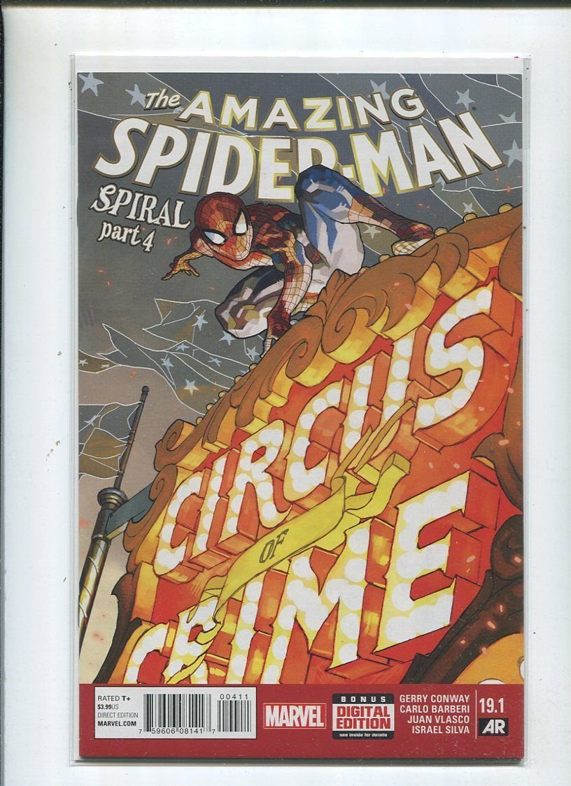The Amazing Spider-Man #19.1 Spiral Part 4 Unread New / Near Mint MD1