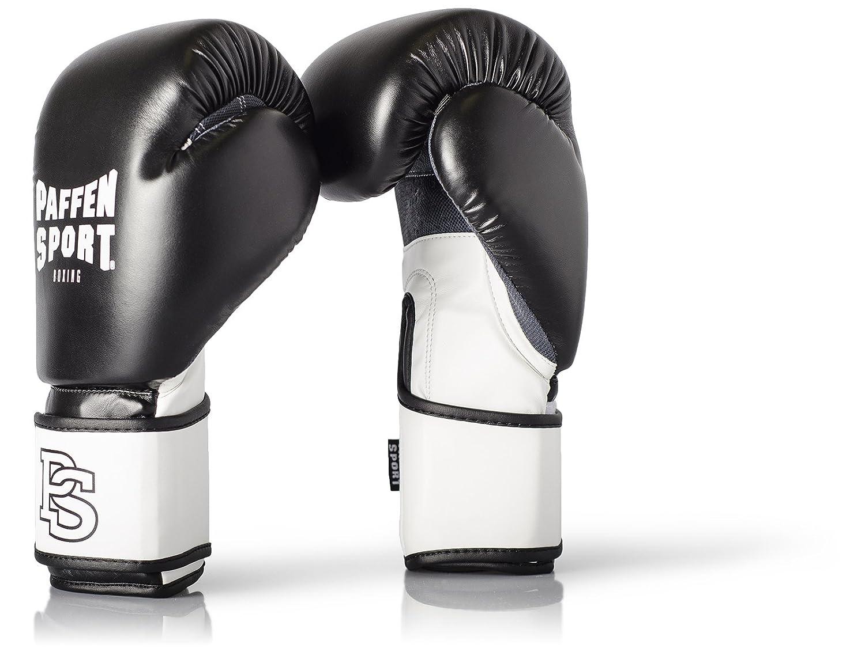 Paffen Sport FIT Boxhandschuhe mit atmungsaktiver Mesh-Innenhand für das Training im Boxen, Kickboxen, Muay Thai, K1 und anderen Kampfsportarten