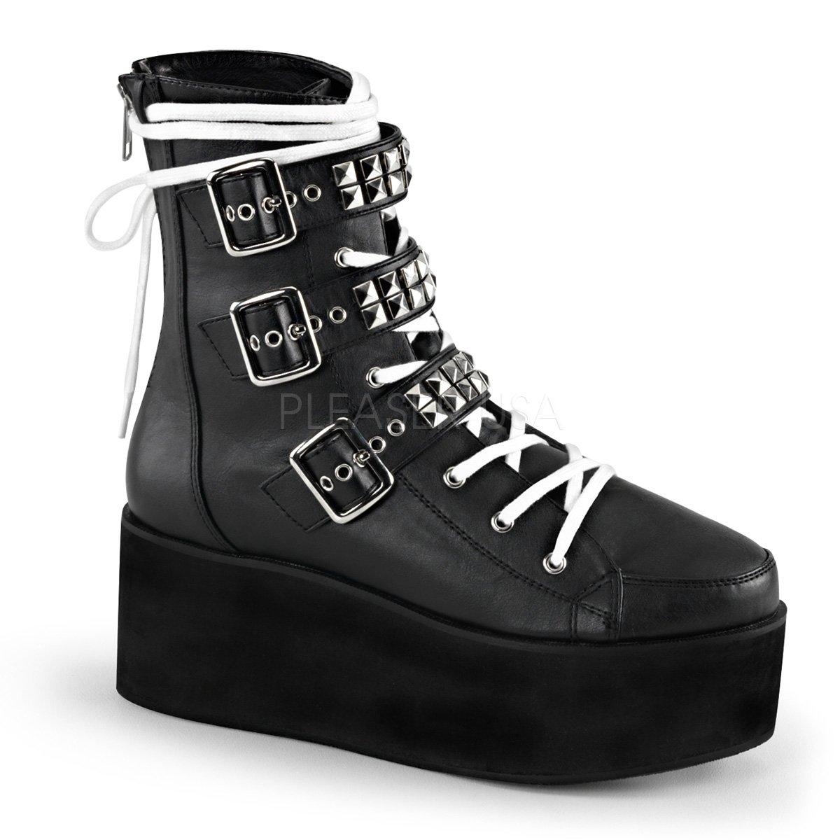 Demonia Women's Grip101/bca Boot B017LL1K5E 10 B(M) US|Black Vegan