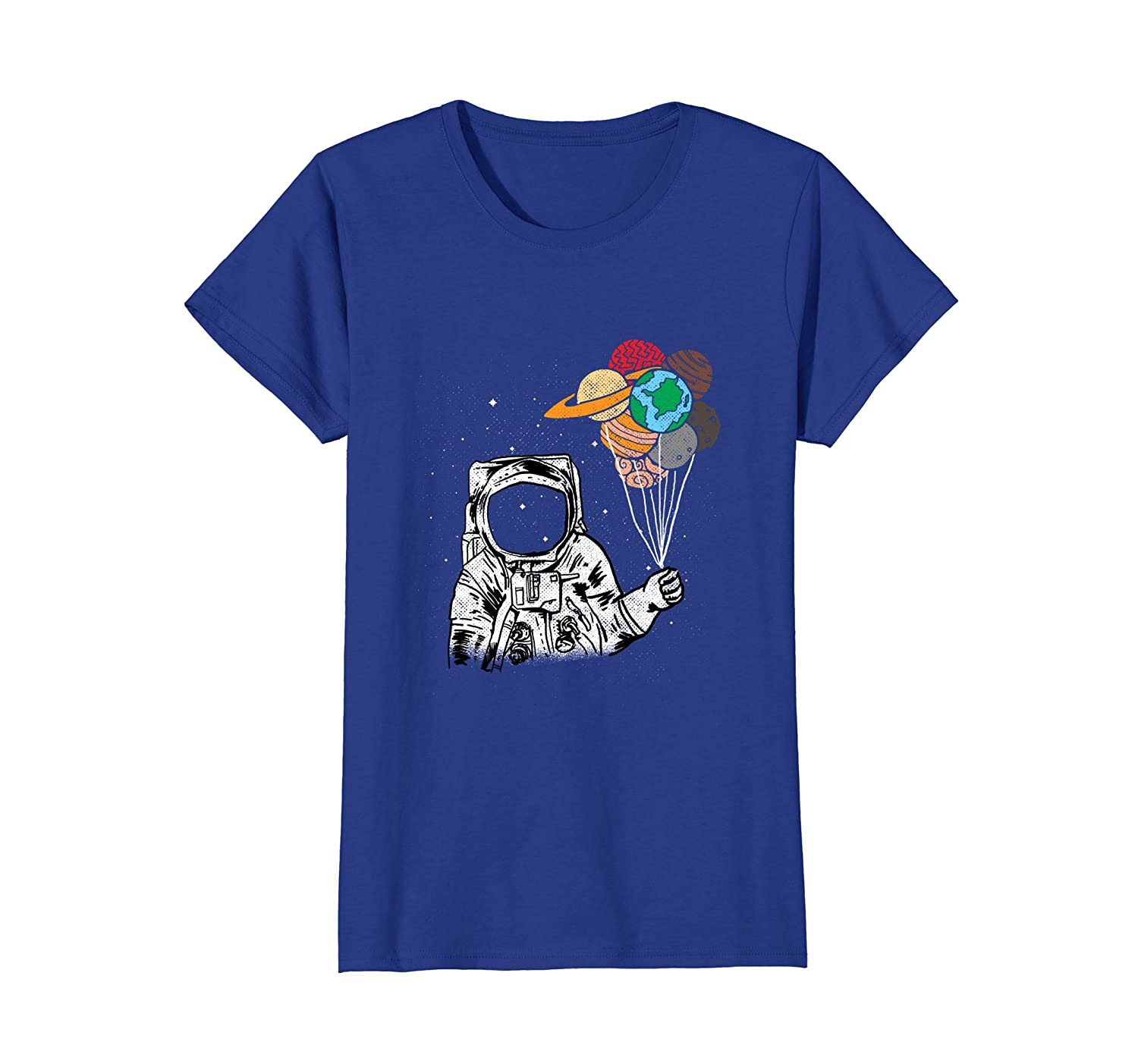 """""""Astronaut with planets in hand"""" Awesome Shirt-Newstyleth"""