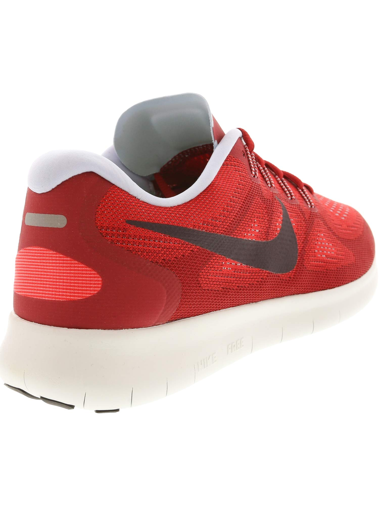 Nike Free RN 2017 Mens Running Trainers 880839 Sneakers Shoes (UK 7 US 8 EU 41, University red Port Wine 602) by Nike (Image #5)