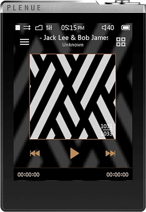 COWON Plenue D PD High resolution music player 32GB Silver Black HiFi 24bit