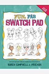 Fun Fab Swatch Pad: Fun color swatching templates designed for artists by artists! (Fun Fab Drawing Series) Paperback