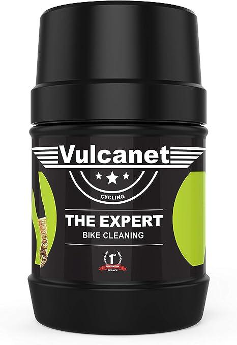 Vulcanet Waschen Ohne Wasser Die Grüne Dose Mit 60 Reinigungstücher Für Bike Fahrrad Kleinwagen Motorrad