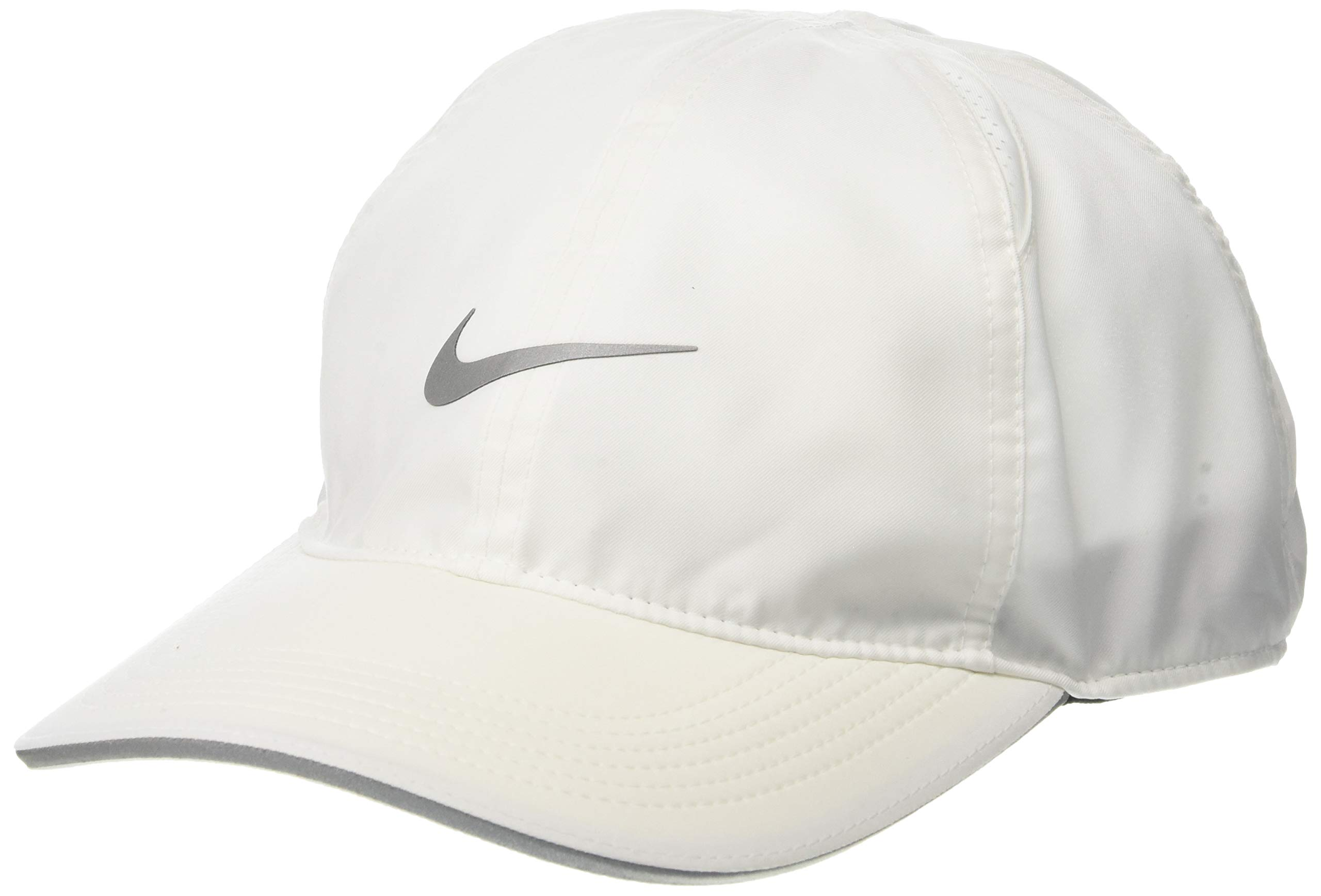 Nike Featherlight Running Cap, White, Misc by Nike (Image #1)