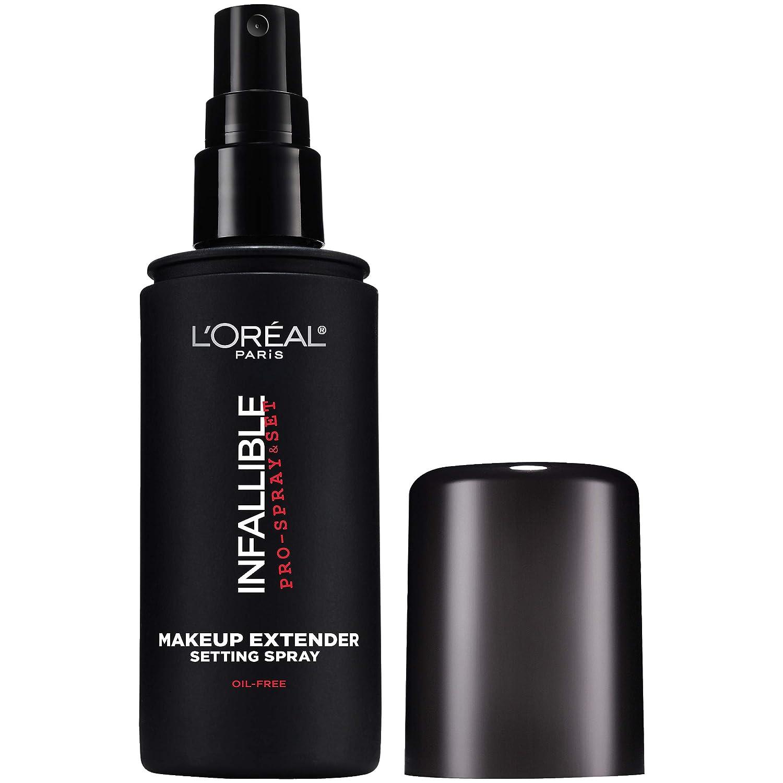 L Oreal Paris Makeup Infallible Pro-Spray Set Makeup Extender Setting Spray, 3.4 fl. Oz 100 ml .