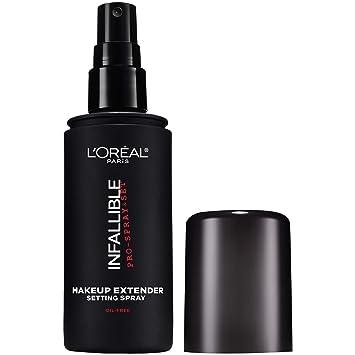 L'Oreal Paris Makeup Infallible Pro-Spray & Set Makeup Extender Setting  Spray, 3 4 fl  Oz