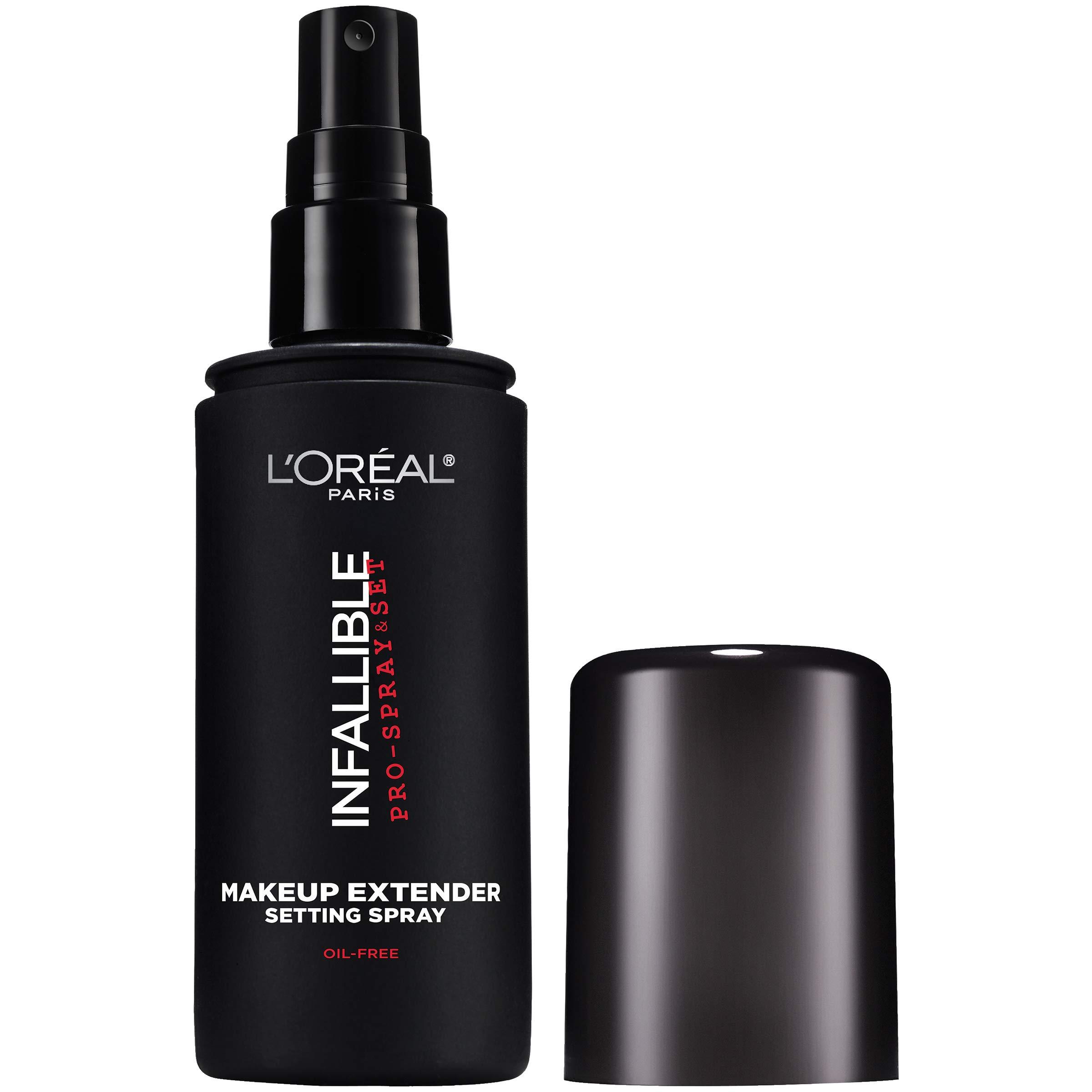 L'Oreal Paris Makeup Infallible Pro-Spray & Set Makeup Extender Setting Spray, 3.4 fl. Oz.