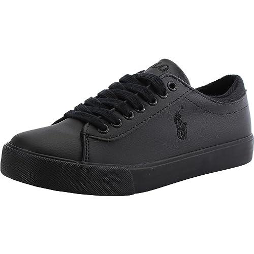 all black polo ralph lauren shoes