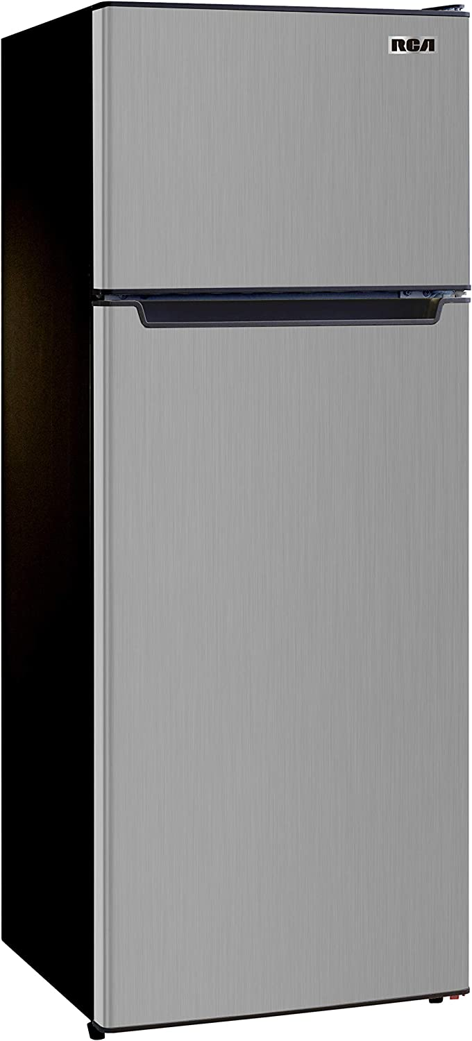 RCA, Platinum RFR725 2 Door Refrigerator with Freezer, 7.2 cu. ft