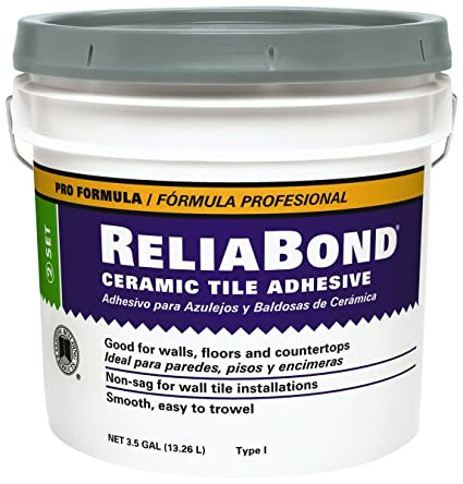 Reliabond Tile Adhesive 35 Gal Laminate Floor Coverings Amazon