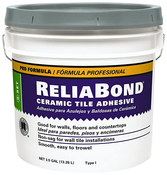 Reliabond Tile Adhesive 35 Gal Laminate Floor Coverings Amazon