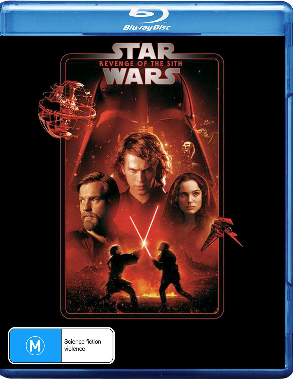 Amazon Com Star Wars Revenge Of The Sith Episode Iii Blu Ray Movies Tv