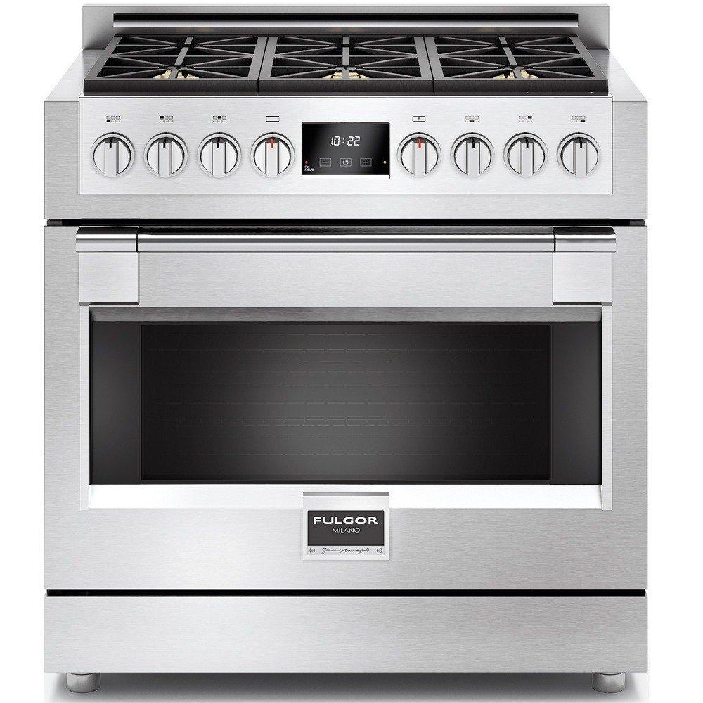 Fulgor - Cocina a Gas FSRC 3606 GG Ed 2 F x Acabado Acero ...