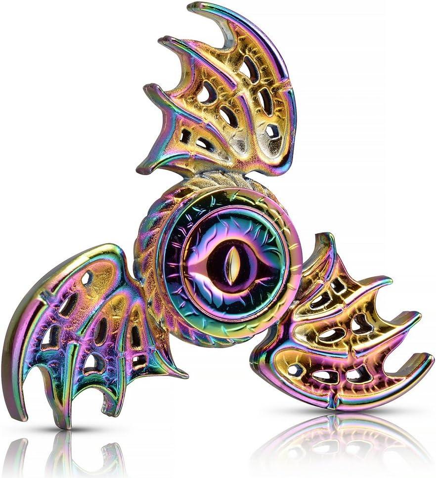 Metal Fidget Spinner Metallic