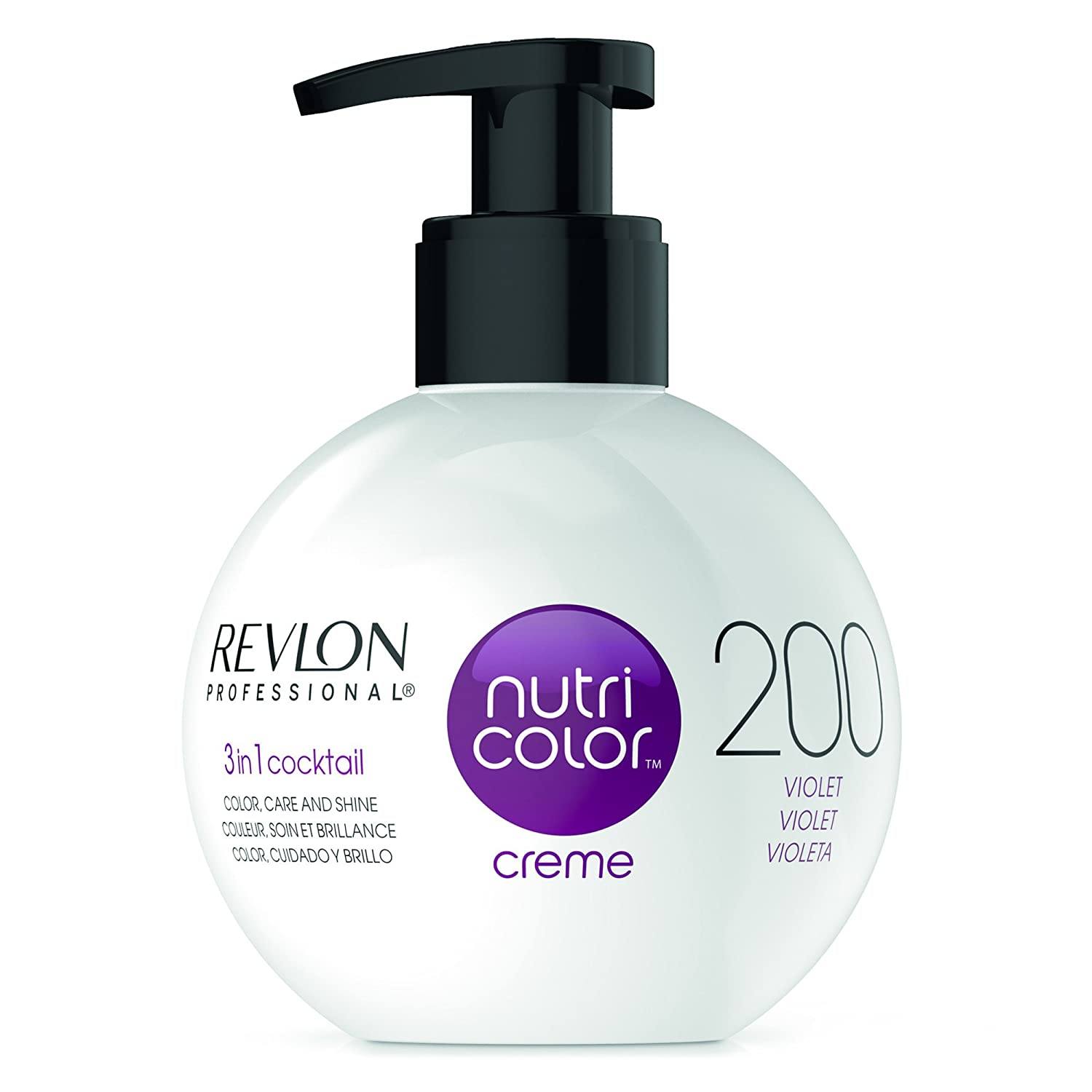 REVLON PROFESSIONAL Nutri Colour Creme 1002 White Platinum 270 ml 7241407002