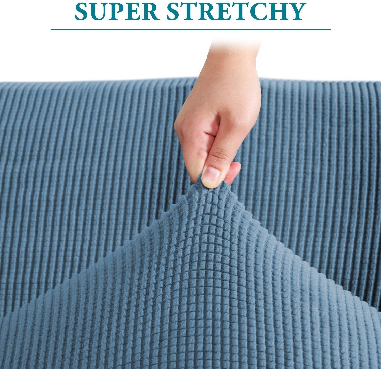 1 Piece Sofa Cover for Armchair Bundle Ottoman Covers Ottoman Slipcovers