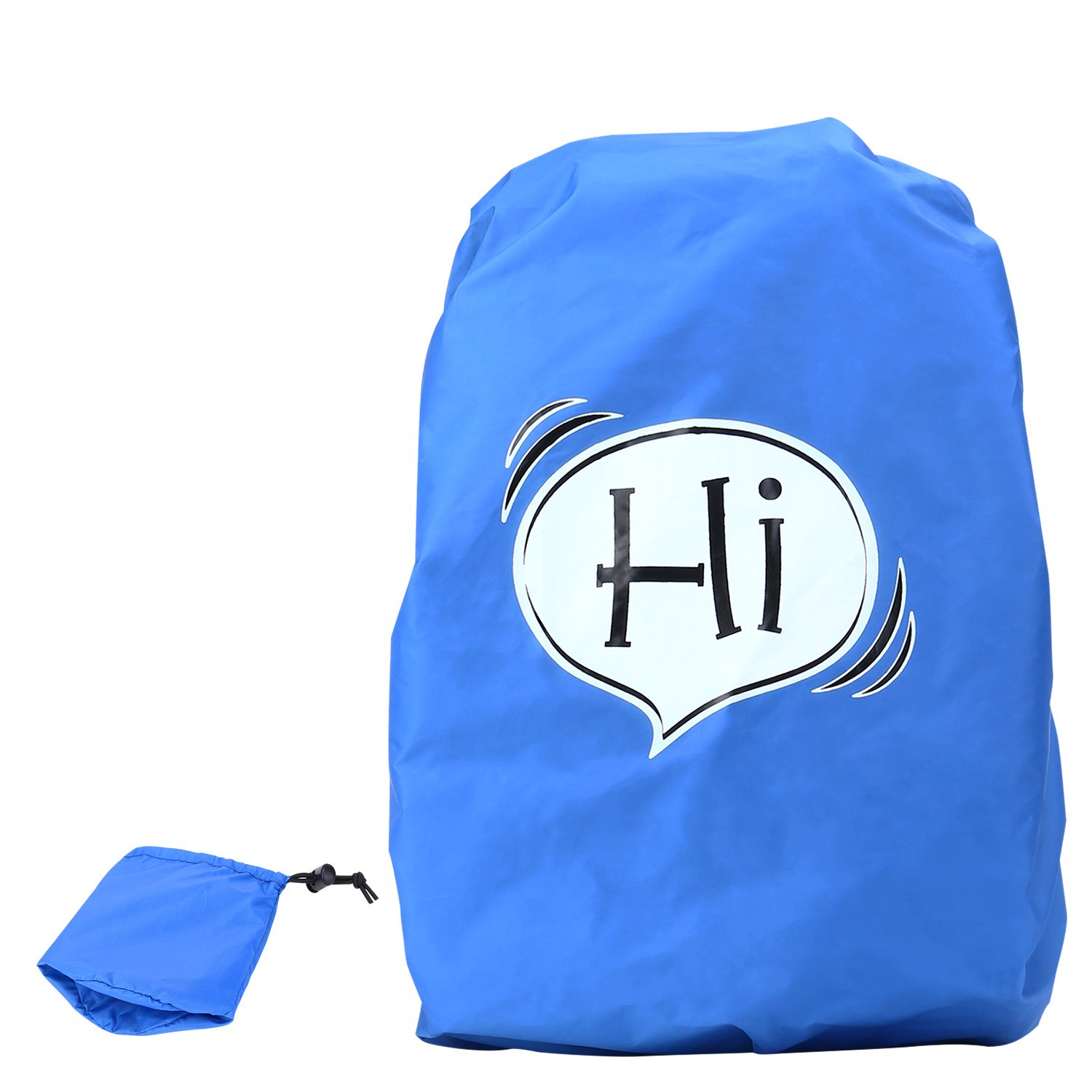 NONMON Waterproof Rain Cover for 30L/40L Hiking Backpack School Backpack Blue