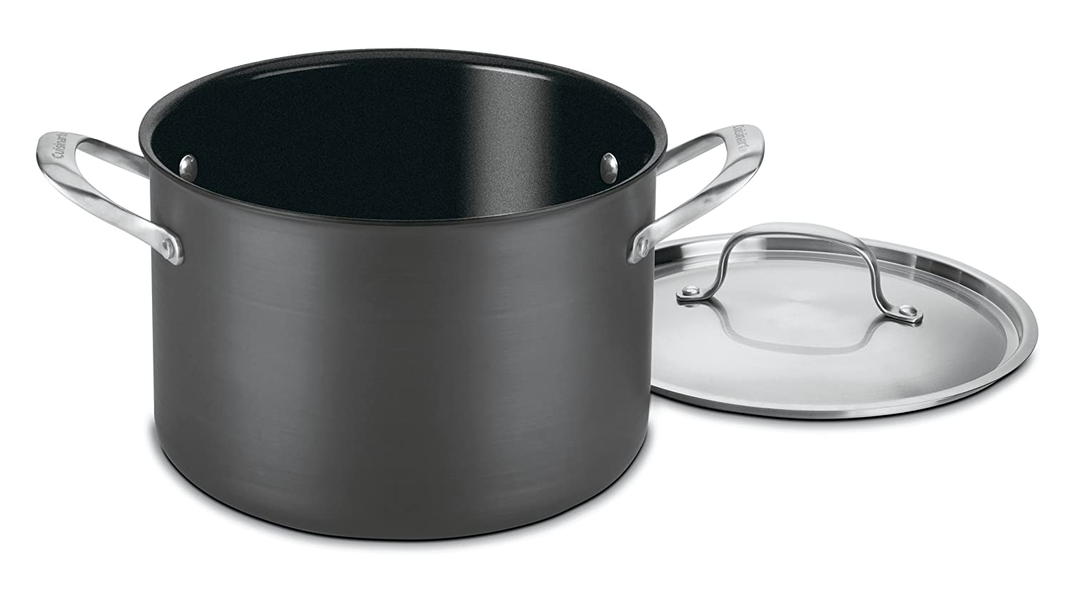 Cuisinart GG66-24 GreenGourmet Hard-Anodized Nonstick 8-Quart Stock Pot with Cover