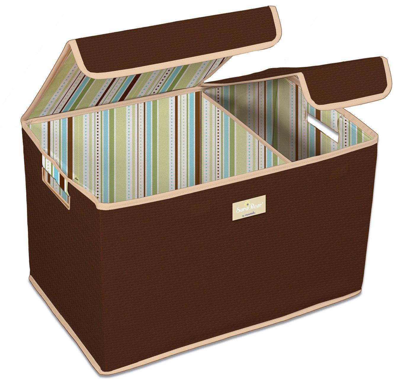 Amazon.com : Munchkin SaraBear Toy Organizer, Brown, Large (Older ...