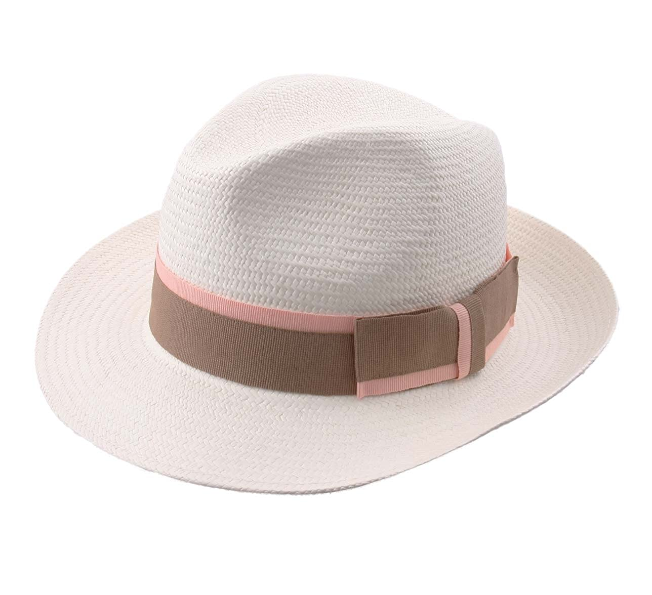 Modissima Equateur Panama Hat Size 60 Cm White