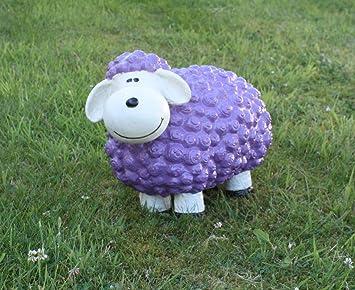 Lustige Tierdeko Schaf Bunt Versch Farben Auswählbar Garten Deko