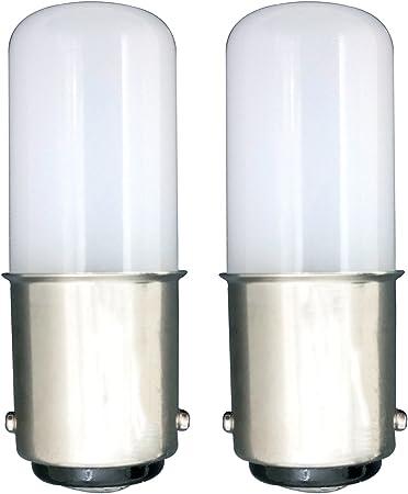 MZMing [2 unidades] LED B15 Ahorro de Energía Bombilla LED de 1.5 ...