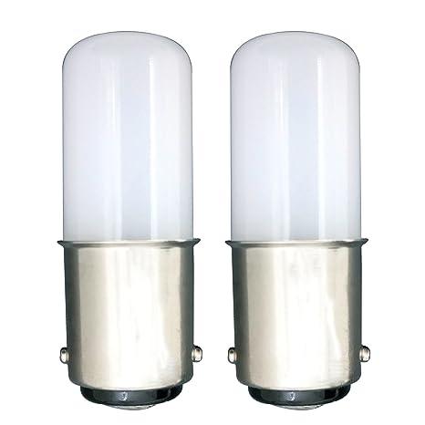 MZMing [2 unidades] LED B15 Ahorro de Energía Bombilla LED de 1.5 Vatios Equivalente