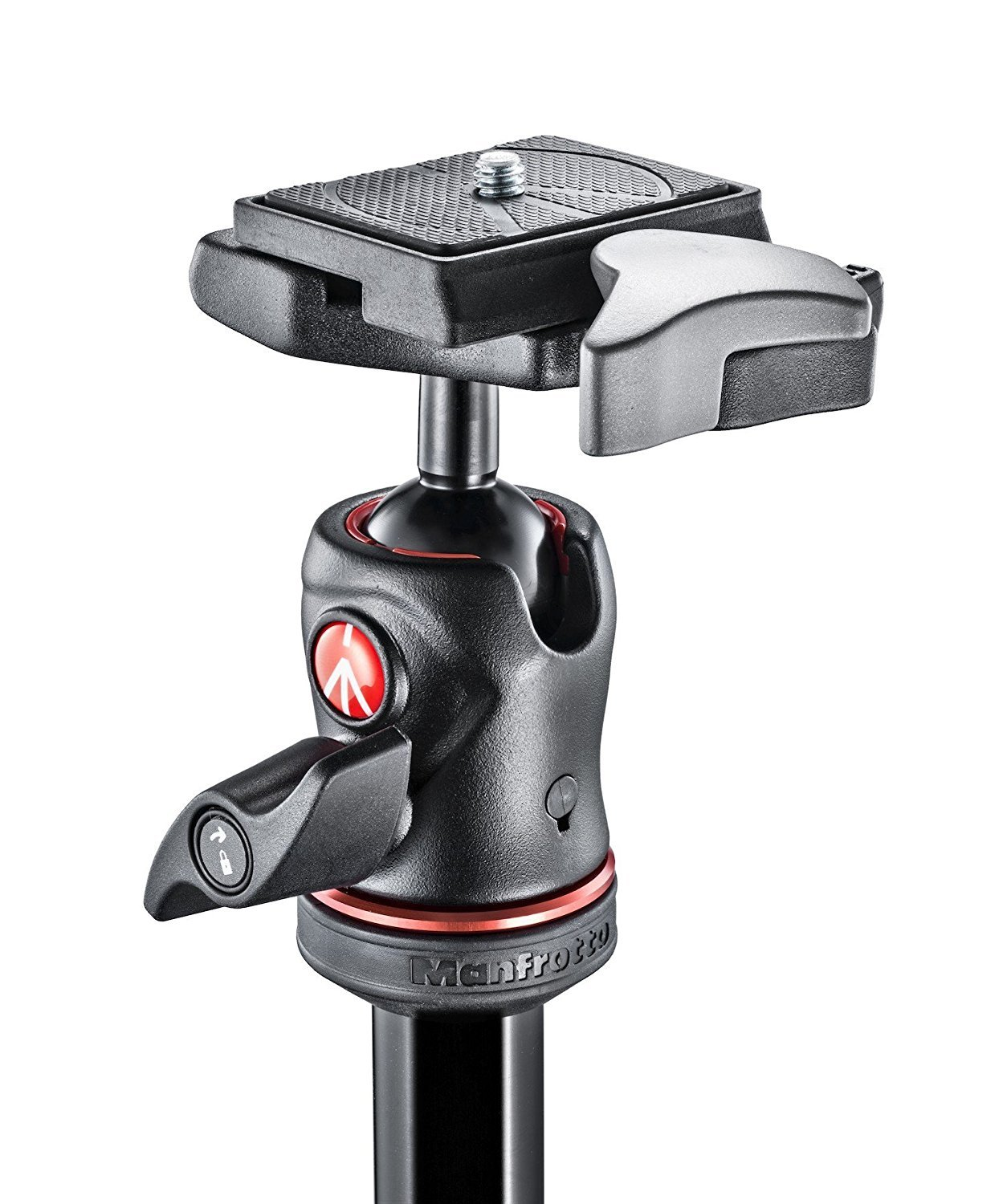 Manfrotto MKBFRC4-BH BeFree Compact Travel Carbon Fiber Tripod and Two ZAYKiR RC2 Quick Release Plates (Carbon)